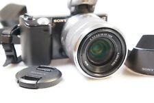 Sony nex-5 HD AVCHD con zoom e 3.5-5.6/pz 18-55 OSS