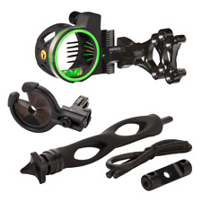 New 2019 Trophy Ridge Master Hunter Kit Volt 5 Bow Sight Whisker Biscuit Static