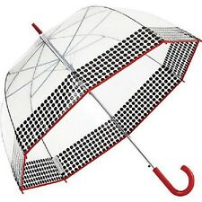 New Shed Rain ShedRain Bubble Stick Fashion Large Umbrella Auto Open YIPPEE RED