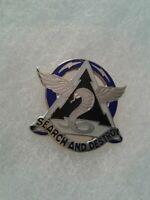 Authentic US Army 307th Aviation Battalion DI DUI Unit Crest Insignia 22M