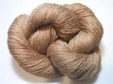 100% 4 Ply Baby Camel Hair Light Brown Natural Yarn 100 gram Skein VERY SOFT