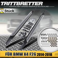 Trittbretter Einstiegsleiste Set Aluminium Schweller für BMW X4 F26 ab bj 2014