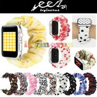 Scrunchie Fashion Loop Band Strap For Apple Watch iWatch Series 5/4/3/2/1 HOT