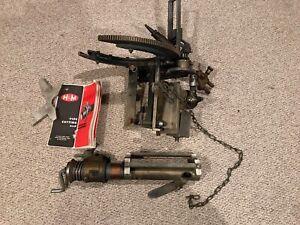 H&M Pipe Cutting Beveling Saddle Cutter Torch Machine Beveler 612