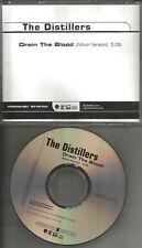 THE DISTILLERS Drain the Blood PROMO Radio DJ CD Single 2003 MINT