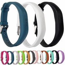 Replacement Silicone Wrist Band Strap Bracelet with Buckle for Fitbit Flex 2
