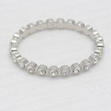 Premier designs jewelry unique silver tone bracelet magnetic bangle cut crystals