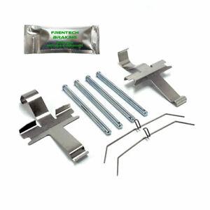 For Subaru Impreza WRX Turbo Front Brake Pad Fitting Kit Pad Pin Kit PFK1374A