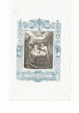 1853 Grabado, La Natividad de Nuestro Señor Natività