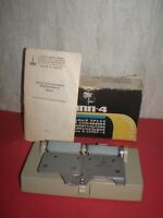 New Russian universal 8-16mm and Super 8mm film adhesive press
