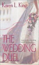 The Wedding Duel (Zebra Historical Romance) by Karen L King Hardcover book EUC