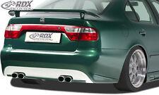 RDX Stoßstange SEAT Toledo 1M Heck Schürze Hinten Spoiler Tuning Diffusor