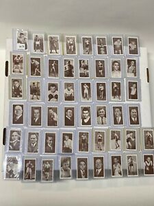1938 Churchman Boxing Personalities 50 card Complete Set  JOE LOUIS JACK JOHNSON