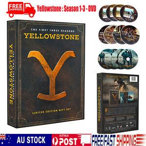 Yellowstone : Season 1-3 - DVD  Limited EditionSeason 1, 2 and 3 Free Shipping!