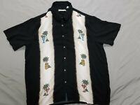Batik Bay Men's Short Sleeve Button Front Hawaiian Shirt Size XLT