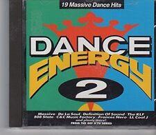 Dance Energy 2 (1991) Definition of Sound, De la Soul, Massive, 808 State.. [CD]