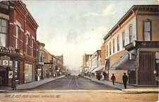 Hammond Indiana State Street Scene Historic Bldgs Antique Postcard K19533