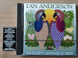 CD Ian Anderson The Secret Language Of Birds USA + Bonus Fuel Records 2000