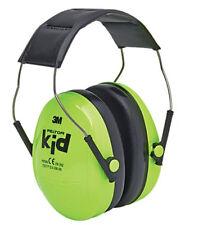 3M Peltor Kids Headband Ear Muffs - Neon Green 27db