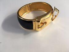 CC-Skye Large Travail Boucle Bracelet En Noir