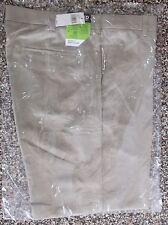 NWT Men's Izod Flat Front XFG Golf Pants Khaki/Tan  Classic Fit   38 x 30