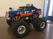 """Mean Machine"" 67 4x4 Monster Truck Hand Battery Operated RC 1993"