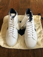 Vintage CONVERSE Pro Leather Dr J All Star Shoes White Navy Size 10.5 New No Box