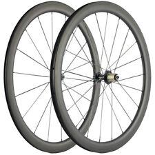 Carbon Wheels Road Bike 45mm Clincher Shimano Hub 700C Wheel 25mm Wide U shape