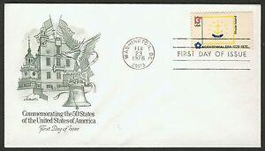 #1645 13c Rhode Island, Artmaster-Addressed FDC ANY 4=
