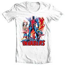 Union Jack The Invaders T Shirt vintage Marvel Comics 1970's graphic tee Namor