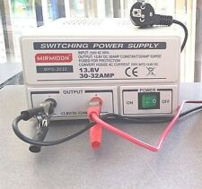 DC regulated power supply 220vca 13.8v 30A power supply from 220V to 12 Volts