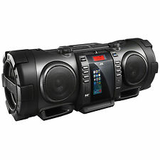 JVC RVNB100 40W Portable Bluetooth DAB CD Radio Lightning Connector Boombox