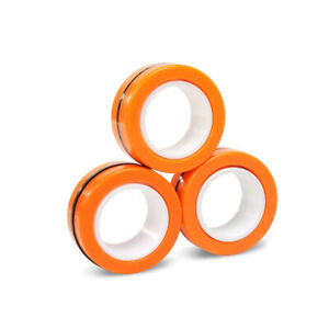 Magnetic Bracelet Ring Unzip Magical Ring Props Tools Decompression Product A...