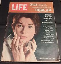 SHIRLEY MacLAINE - LIFE Magazine (February 23, 1962) - SIGNED