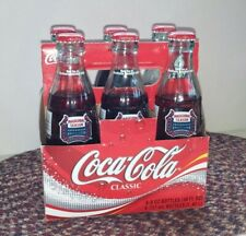 St. Louis Cardinals Inaugural Season Collector Bottles Coca-Cola Coke 6 Pack