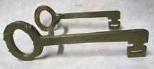 Very Unusual Old Bronze Hand Forged ~KEY~ Bit From our Collection