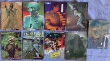 LOT 21 Brazil PROMO STARS WARS PEPSI CARDS 1997