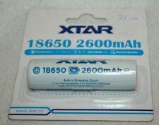 XTAR 18650 2600 mAh Li-ion Rechargeable Battery 3.7v  NEW