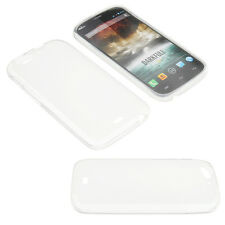 Bag for Wiko Darkfull Cell Phone Pocket Cases TPU Rubber Transparent Foggy
