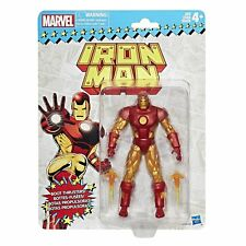 HASBRO MARVEL SUPER HEROES VINTAGE Card  IRONMAN 6 inch Action figure