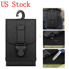 Classic Nylon Waist Bag Belt Loop Holster Phone Pouch Wallet Case Fanny Pack