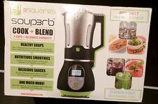 3 Squares Soup3rb Cook and Blend Crockpot Blender Soup Built in Heating Element