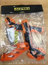 KTM  EXC F  EXC-F 250  350 450 505  2012-2016  ACERBIS ORANGE/BLACK FRAME GUARDS