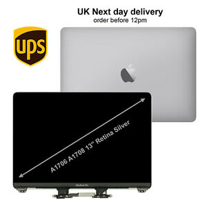 Replacement Silver Macbook Pro A1706 A1708 13'' 2016 2017 LCD Screen Display