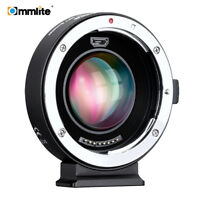 Commlite CM-AEF-MFT 0.71x Booster for Canon EF EOS Lens to Micro 4/3 Adapter AF
