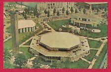 THE BILLY GRAHAM PAVILION NEW YORK WORLD'S FAIR 1964-1965 CHROME PC AERIAL VIEW