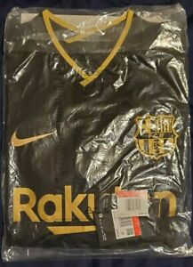 Nike Barcelona 20/21 Authentic Vaporknit Away Jersey / Shirt - (Size L)