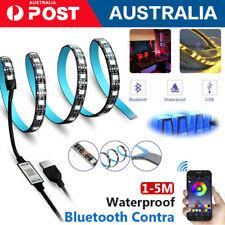 5050 RGB LED Strip Light USB Wireless TV Back Bluetooth Control Lights 1M-5M