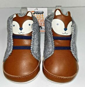 Baby Boy Fox Sneakers Just One You Carter's 3-6 Month, T1