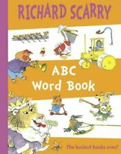 Very Good, ABC Word Book, Scarry, Richard, Paperback